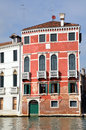 Old palazzo in venice italy canale grande Royalty Free Stock Photos