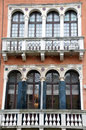 Old palazzo in venice italy on the canale grande Royalty Free Stock Image