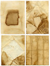 Old paper backgrounds Royalty Free Stock Photos