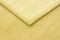 Old paper envelope open close up Stock Photography