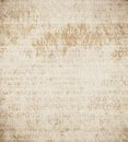 Old paper grungy background with a copy space illustration Stock Images