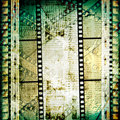 Old papers and grunge  filmstrip Stock Photography