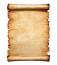 Old Parchment Paper Letter Background Royalty Free Stock Photo