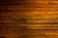 Old parquet texture brown horizontal stripes Royalty Free Stock Photography