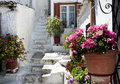 Old part of athens greece picturesque alleys in the Stock Photos