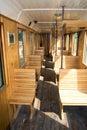 Old Passenger Rail Car Royalty Free Stock Photo