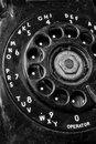 Old Phone - Antique Rotary Dial Telephone III Royalty Free Stock Photo
