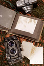 Old photo album Royalty Free Stock Images