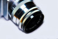 Old photo camera lens
