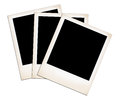 Old Photo Frames. Royalty Free Stock Photography