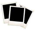 Old Photo Frames. Royalty Free Stock Images