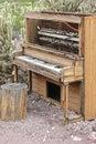 Old piano Royalty Free Stock Photo