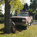 Old pick-up truck Royalty Free Stock Photo