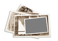 Old pictures frame Royalty Free Stock Images