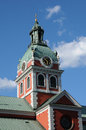 Old and picturesque saint jacob church in stockholm sweden the Stock Photography