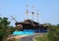 Old Pirate Ship in Roatan