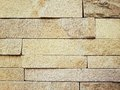 Old plain brick is taken out of the pattern boards were organized the contrast is interesting Royalty Free Stock Images