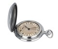 Old pocket watch on the white background Royalty Free Stock Image