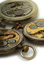Old pocket watches Royalty Free Stock Image