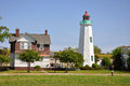 Old Point Comfort Lighthouse, USA Royalty Free Stock Photo