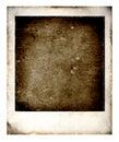 Old Polaroid Royalty Free Stock Photo