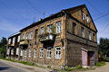 Old Polish house Royalty Free Stock Photo