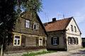 Old Polish houses 2 Royalty Free Stock Photo
