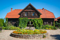 Old polish mansion in kiermusy podlasie eastern poland Royalty Free Stock Photo