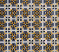 Old Portuguese tiles Stock Image