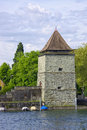 Old powder magazine tower, Constance Royalty Free Stock Image