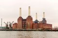 Old power station battersea london uk Royalty Free Stock Images