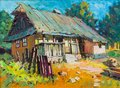 Old precious home painting