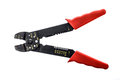 Old Precision Steel Wire and Cable Cutter Stripper Pliers Royalty Free Stock Photo