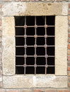 Old prison bars fortress bar window Royalty Free Stock Images