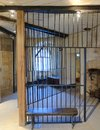 Old prison cell in oxford, england Royalty Free Stock Photo