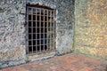 Old prison door Royalty Free Stock Photo