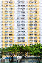 Old Public Residential Building in Hong Kong Royalty Free Stock Photo