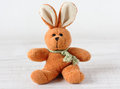 Old rabbit toy Royalty Free Stock Photo