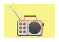 Old Radio Receiving Set Royalty Free Stock Photo