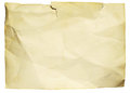 Old ragged paper Royalty Free Stock Photo