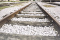 Old rails Royalty Free Stock Photo