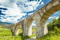 Old railway bridge Royalty Free Stock Photo