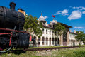 Old railway station in Turkey Royalty Free Stock Photo