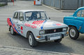 Old rally car Royalty Free Stock Photo