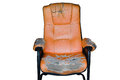 an old recliner Royalty Free Stock Photo