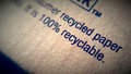 Old recycle paper Royalty Free Stock Photo