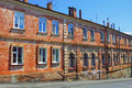 Old red brick building Royalty Free Stock Photo
