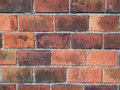 Old red brick wall Royalty Free Stock Photo