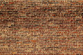 The old red brick wall Royalty Free Stock Photo