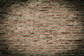 Old red brick wall texture Stock Photos